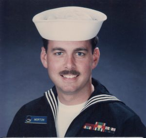 Petty Officer William Morton, US Navy